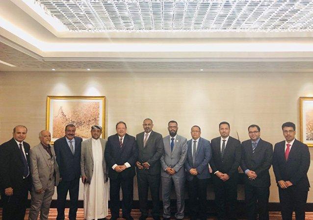 أعضاء بالمجلس الانتقال الجنوبي في اليمن