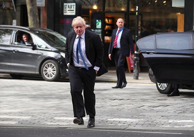 وزير الخارجية البريطاني، بوريس جونسون