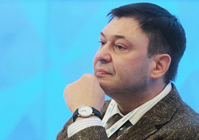 صحفي وكالة نوفوستي- أوكرانيا كيريل فيشينسكي