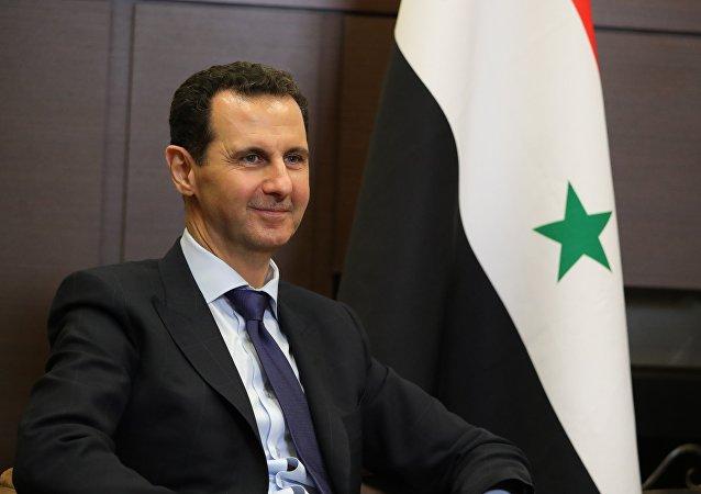 الرئيس فلاديمير بويتن يستقبل الرئيس بشار الأسد في سوتشي، روسيا 17 مايو/ أيار 2017