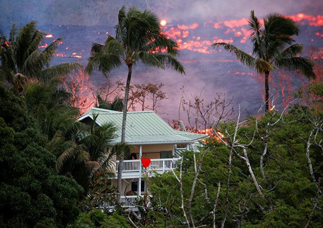 ثوران بركان كيلاويا في هاواي، 20 مايو/أيار 2018
