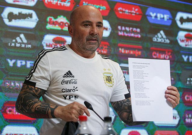 سامباولي مدرب منتخب الأرجنتين
