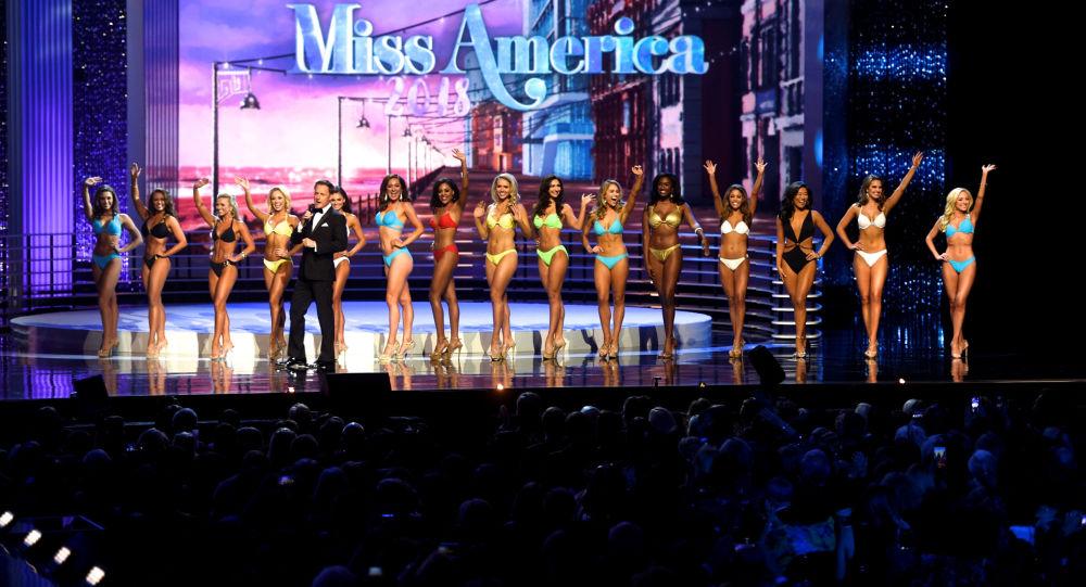 المشاركون في مسابقة ملكة جمال أمريكا