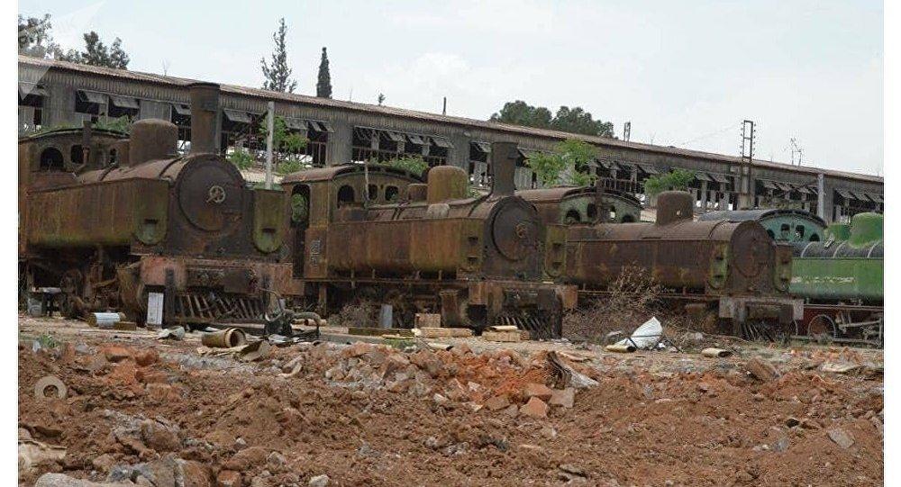 قطارات جنوب دمشق