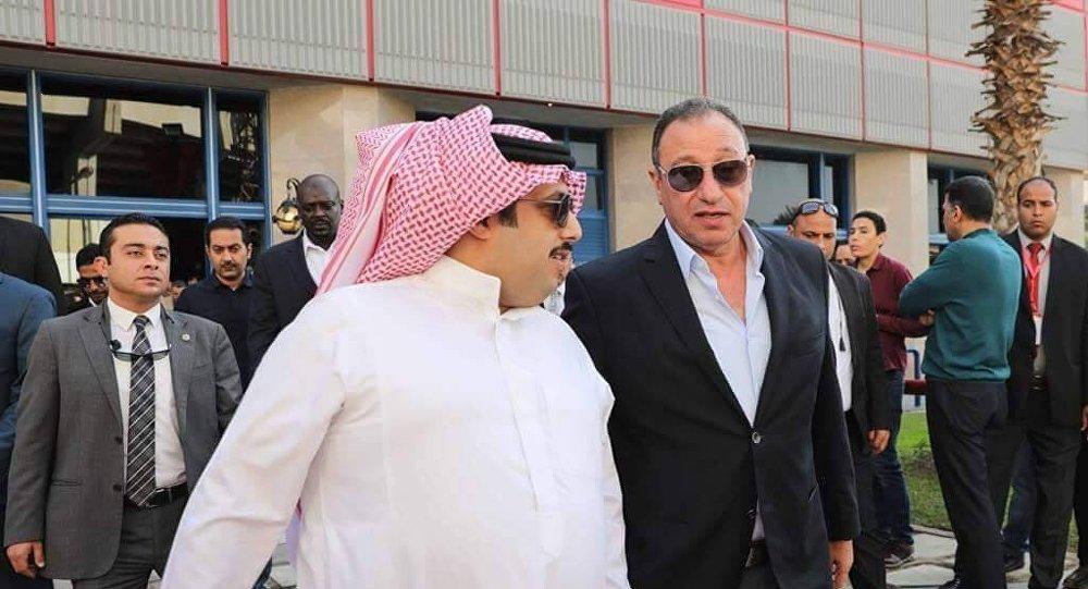 تركي آل شيخ مع محمود الخطيب