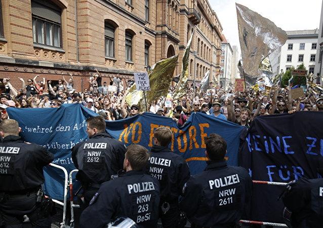 مظاهرات في ألمانيا
