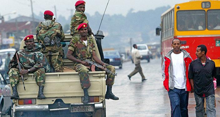 قوات أمن إثيوبية