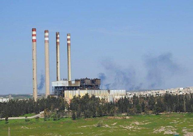 محطة محردة لتوليد الطاقة الكهربائية