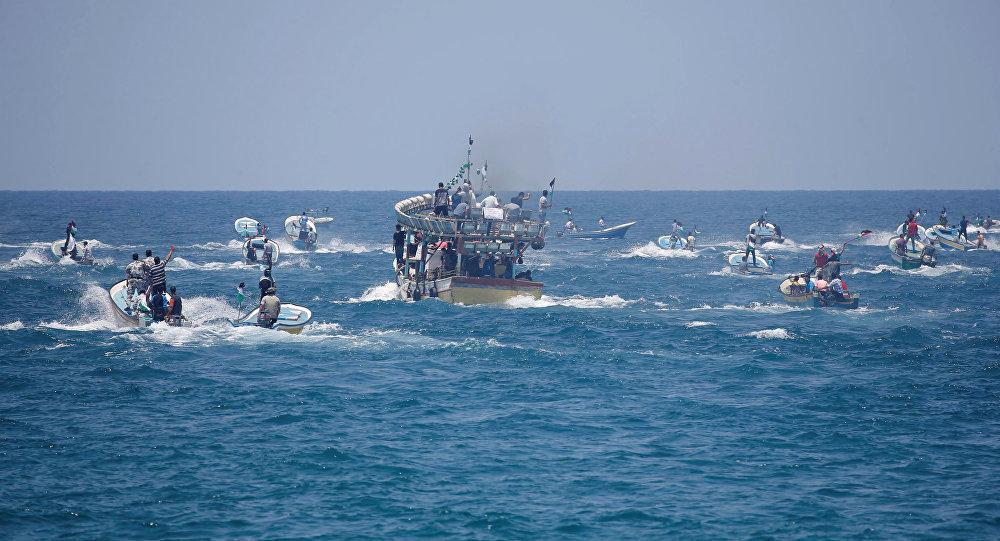 سفينة الحرية لكسر حصار غزة