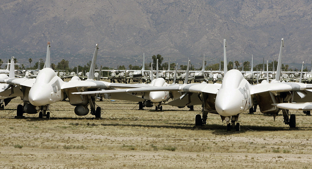 طائرات غرومان إف-14 تومكات  الأمريكية