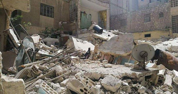 انفجار في أريحا جنوبي إدلب