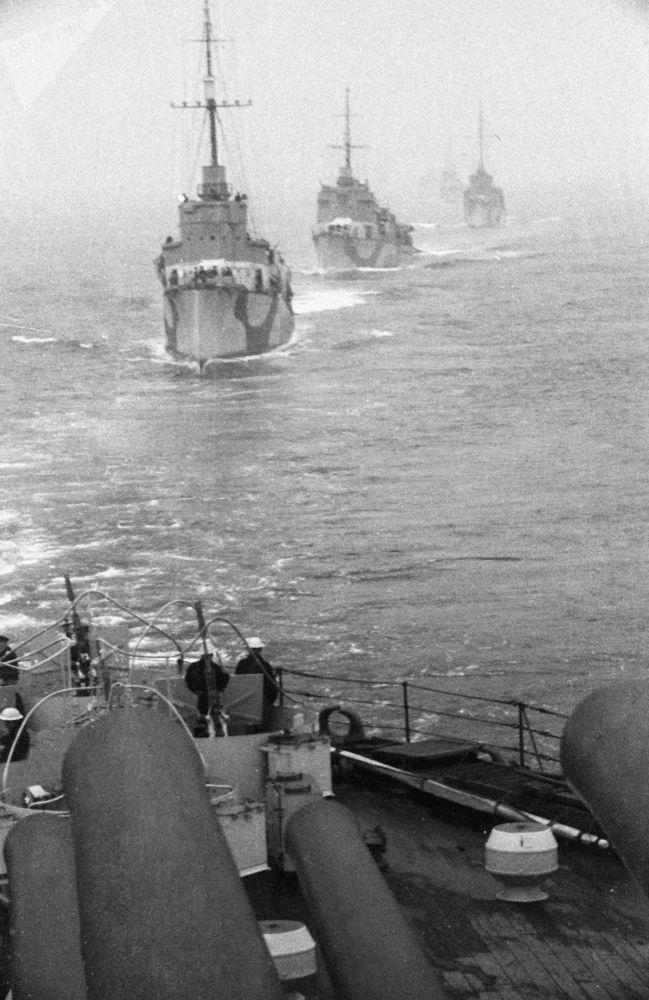 مدمرات الأسطول الشمالي خلال الحرب الوطنية العظمى (1941-1945)