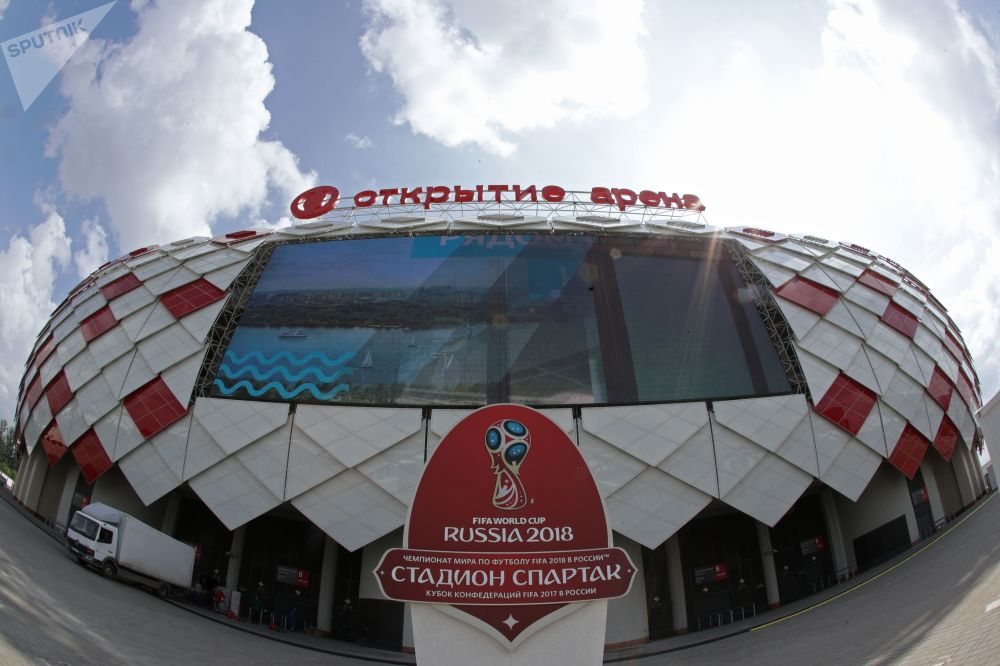 ملعب سبارتاك أحد الملاعب المستضيفة لمباريات كأس العالم 2018