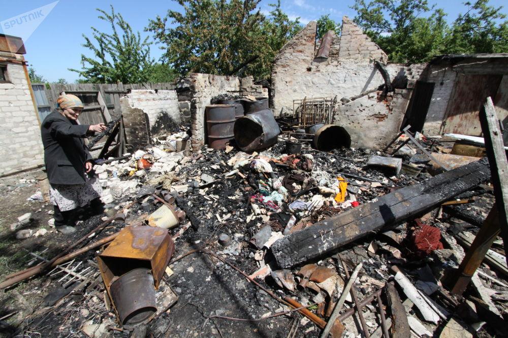 تداعيات اطلاق النار على منزل سكني في دوكوتشيافسك