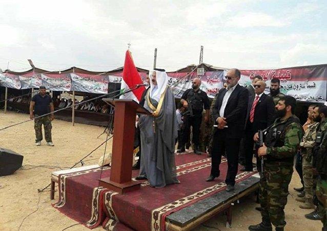 مؤتمر العشائر السورية العراقية في سوريا