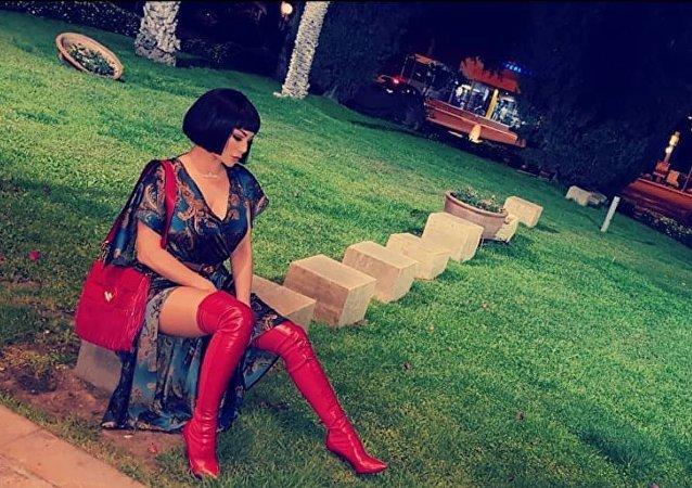 الفنانة اللبنانية هيفاء وهبي في مسلسل لعنة كارما