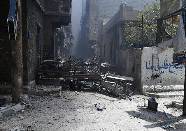 تحرير مخيم اليرموك في دمشق