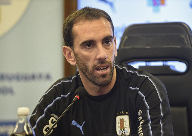 دييغو غودين قائد منتخب الأوروغواي