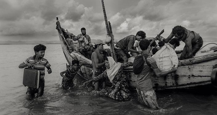ملجأ مهما كان الثمن، للمصور ماشروك أحمد من بنغلادش