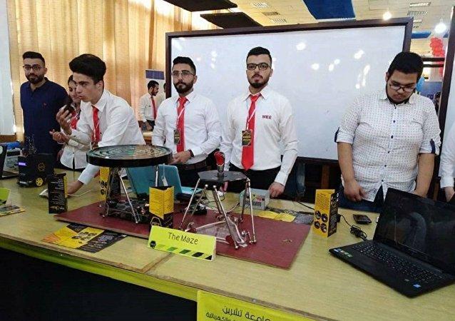 طلاب الجامعات في سوريا يبتكرون رادار نوعي يعمل على الموجات الصوتية