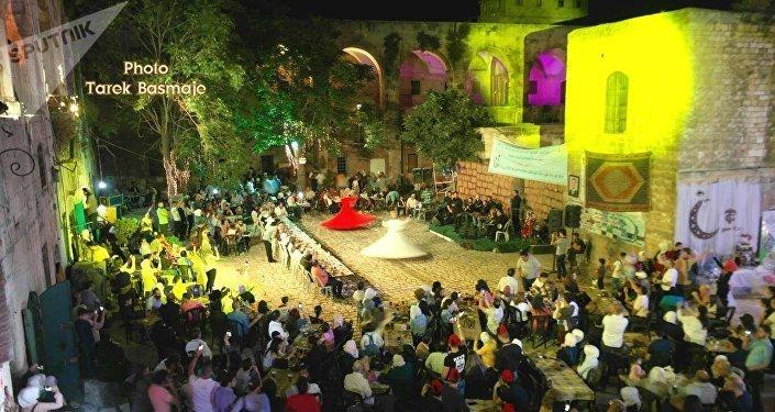 مشهد عام للفعاليات .. برعاية وزارة السياحة السورية
