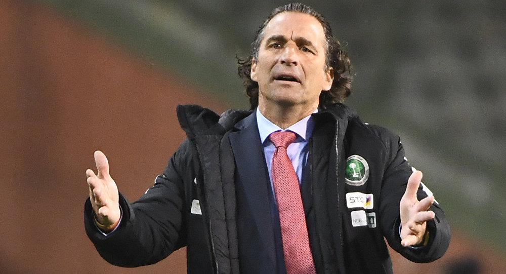 مدرب المنتخب السعودي أنطونيو بيتزي