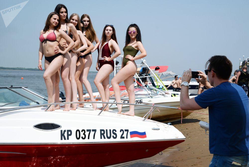 افتتاح موسمو أكوافيست 2018 (Aquafest 2018) في خاباروفسك الروسية