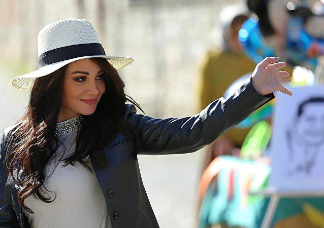 المطربة اللبنانية ديانا حداد