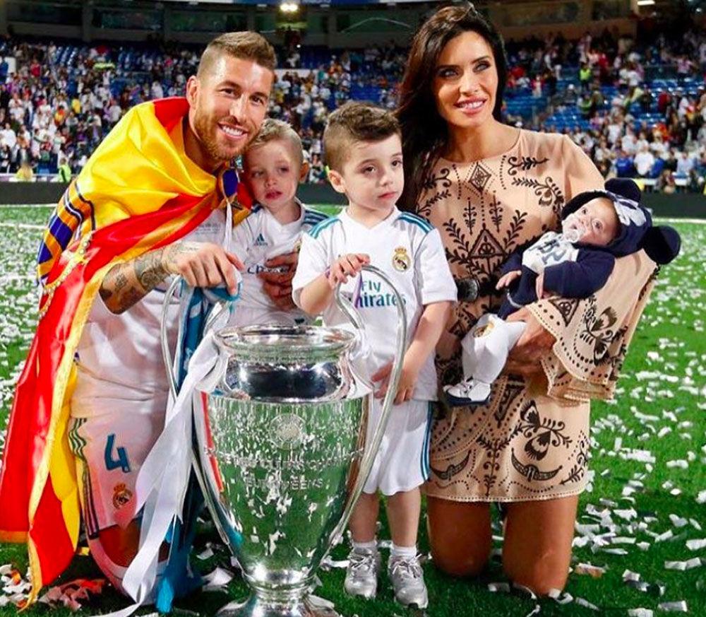 بيلار روبيو - زوجة سيرخيو راموس، مدافع المنتخب الإسباني وفريق نادي ريال مدريد