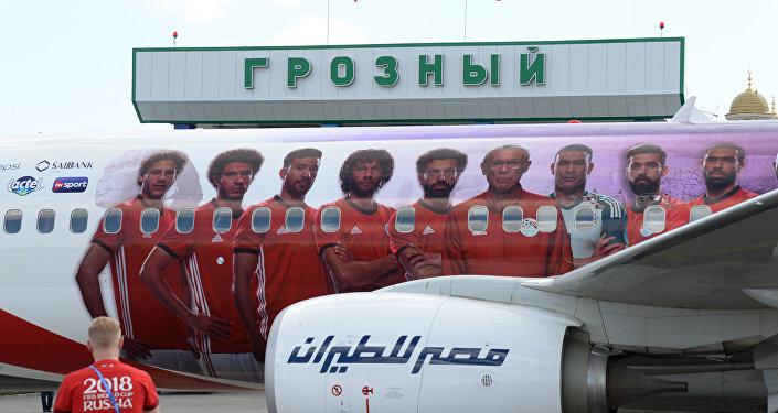 طائرة المنتخب المصري لكرة القدم