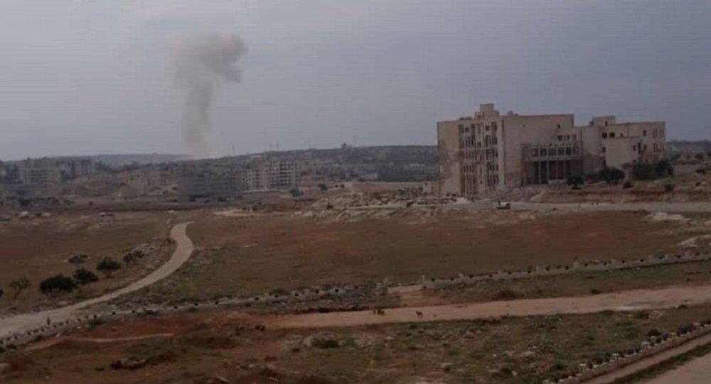 انفجار سيارة مفخخة في مدينة إدلب السورية