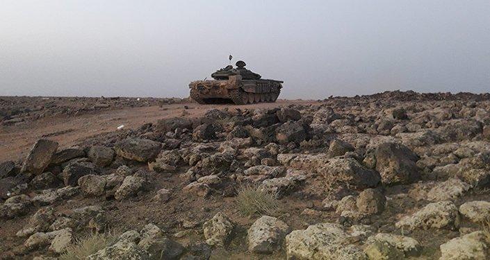 الجيش السوري في البادية وريف السويداء