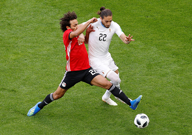 منتخب مصر وأوروغواي - كأس العالم روسيا 2018