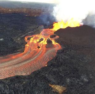 ثوران بركان كيلاويا في هاواي، 10 يونيو/ حزيران 2018