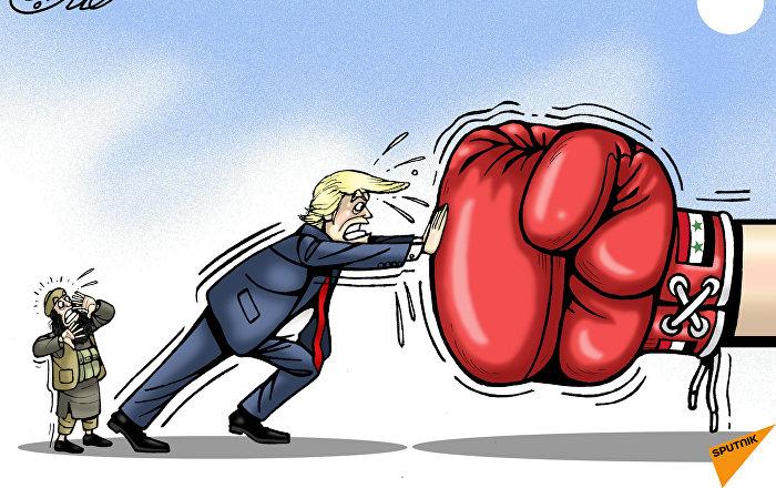 القبضة السورية المتجهة إلى الجنوب تثير مخاوف البيت الأبيض