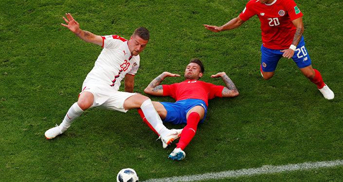 مباراة كوستاريكا وصربيا