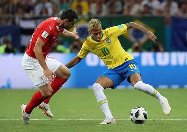 مباررة منتخب البرازيل وسويسرا في كأس العالم 2018
