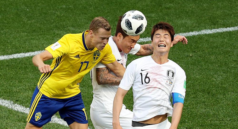 مباراة السويد وكوريا الجنوبية