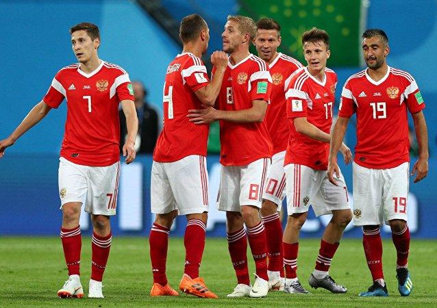 المنتخب الروسي في بطولة كأس العالم 2018