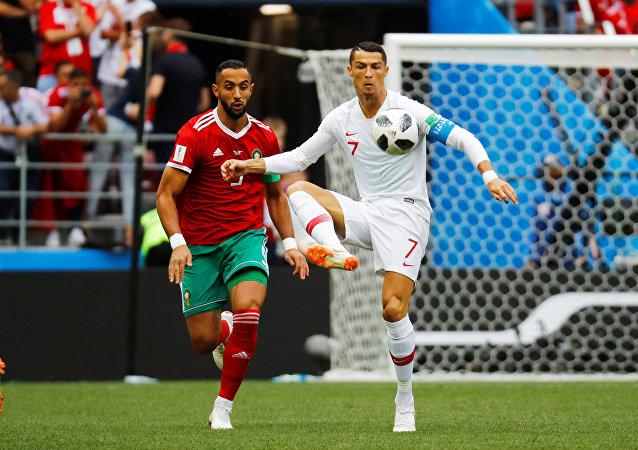 مباراة البرتغال والمغرب - كريستانيو رونالدو