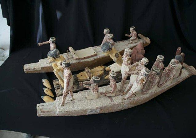 قطع آثار مصرية مستردة