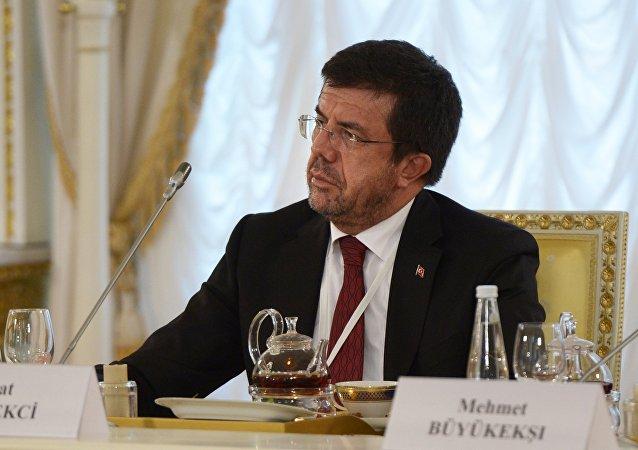 وزير الاقتصاد التركي نيهات زيبرتشي