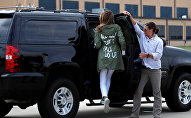 سترة ميلانيا ترامب تثير الغضب