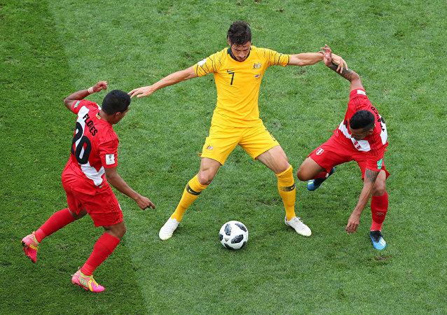 مباراة أستراليا وبيرو فى كأس العالم 2018