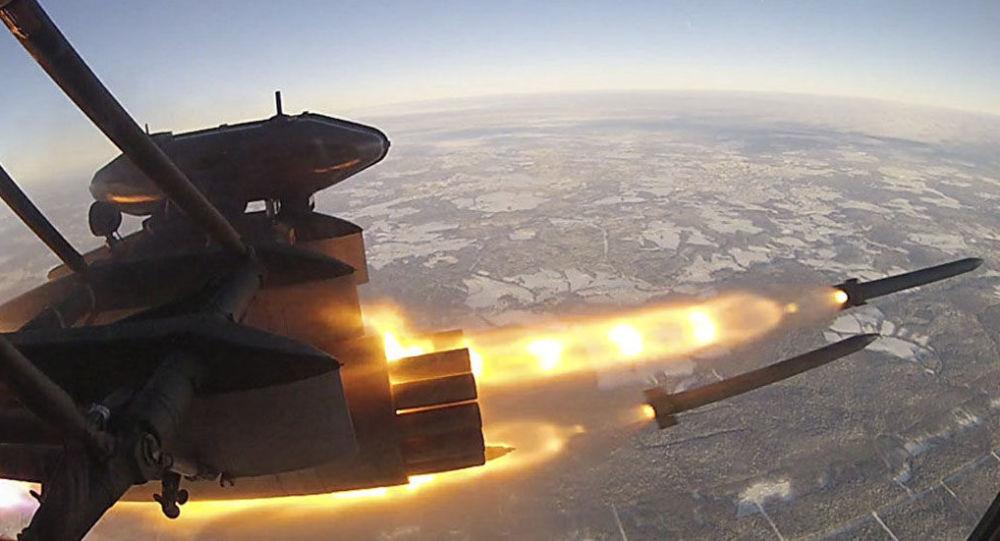 إطلاق صاروخ إس-8أو إف بي