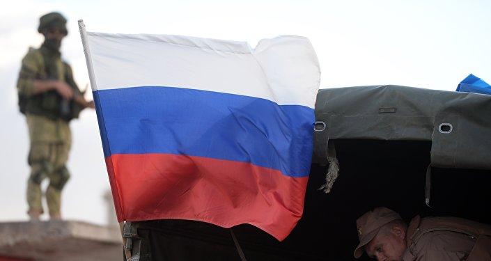 توزيع المعونات الروسية في سوريا