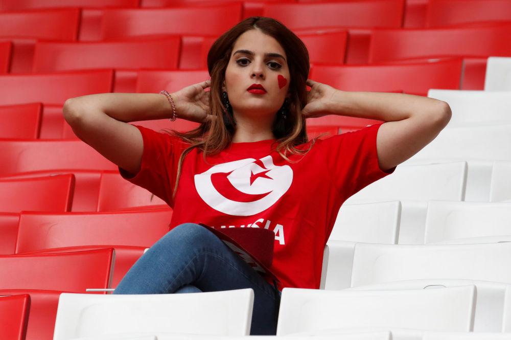 مشجعة تونسية