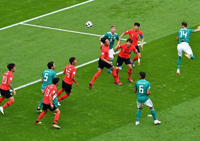 مباراة كوريا الجنوبية وألمانيا