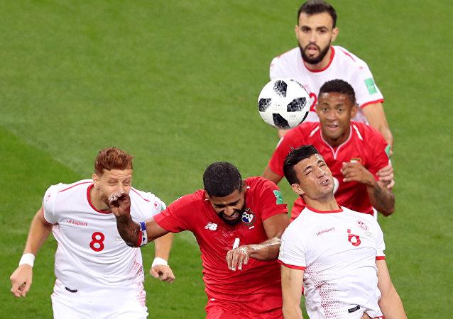 مباراة بنما وتونس في كأس العالم 2018