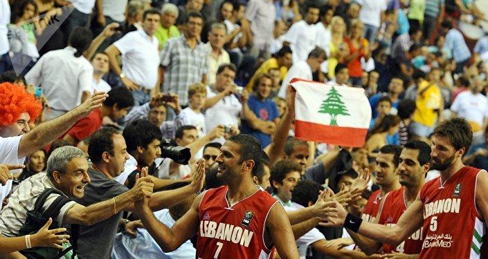 منتخب لبنان بكرة السلة